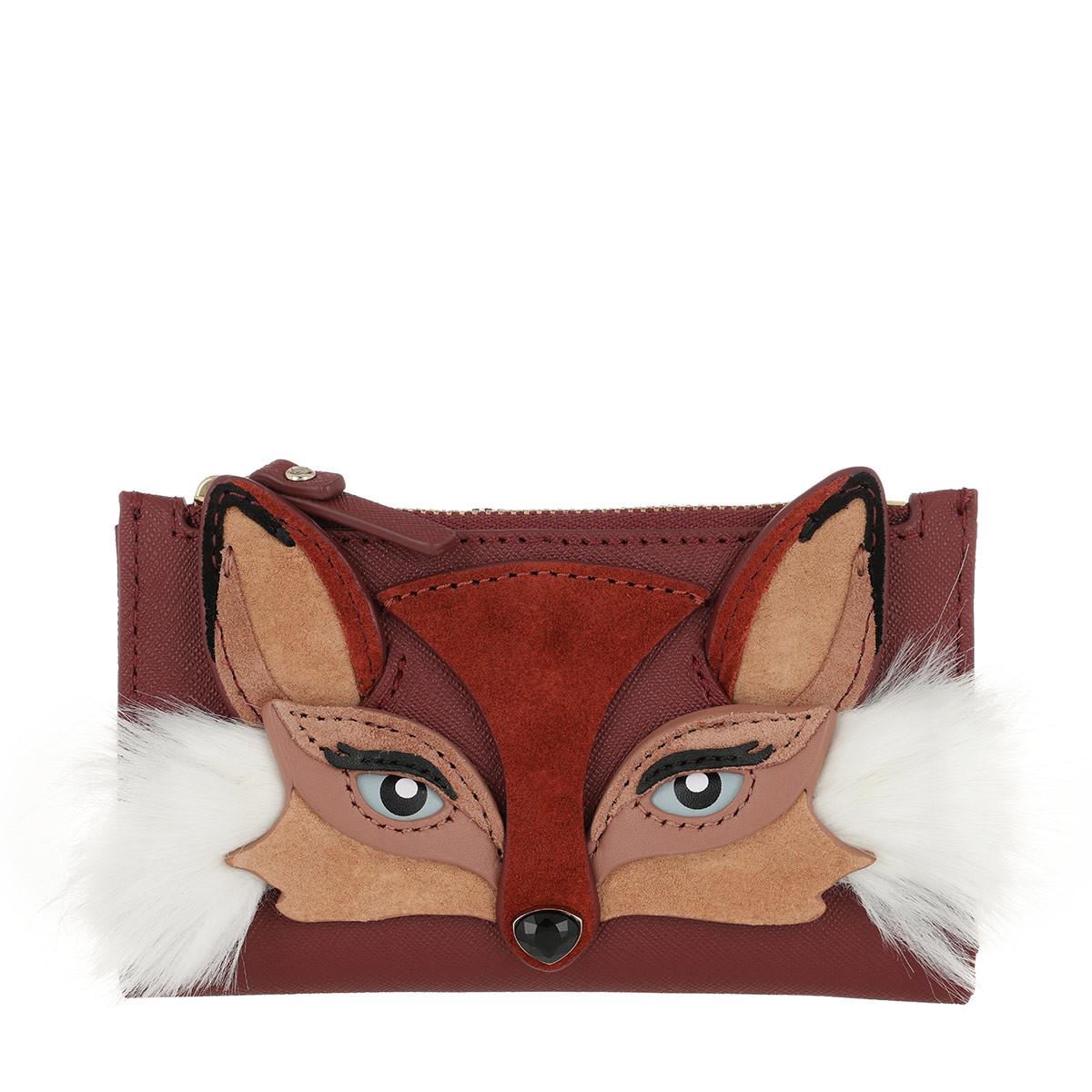 Kate Spade New York Portemonnaie - Fox Mikey Wallet Multi - in rot - für Damen