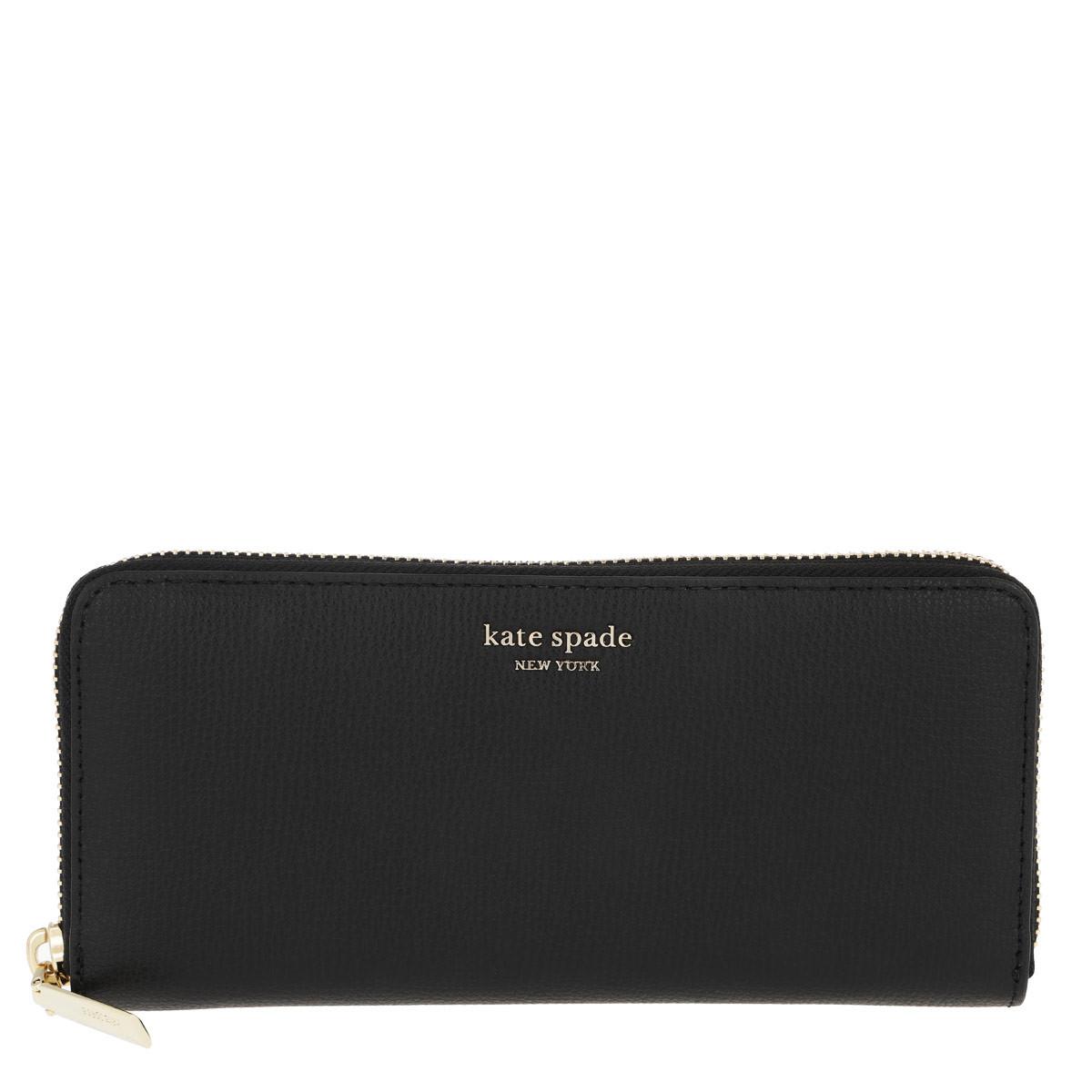 Kate Spade New York Portemonnaie - Sylvia Small Wallet Black - in schwarz - für Damen