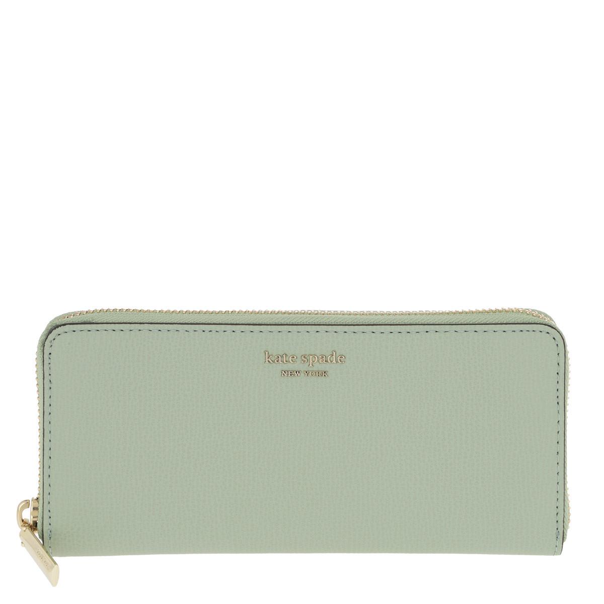 Kate Spade New York Portemonnaie - Sylvia Small Wallet Light Pistachio - in grün - für Damen