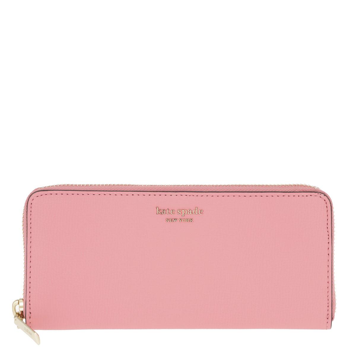 Kate Spade New York Portemonnaie - Sylvia Small Wallet Rococopink - in pink - für Damen