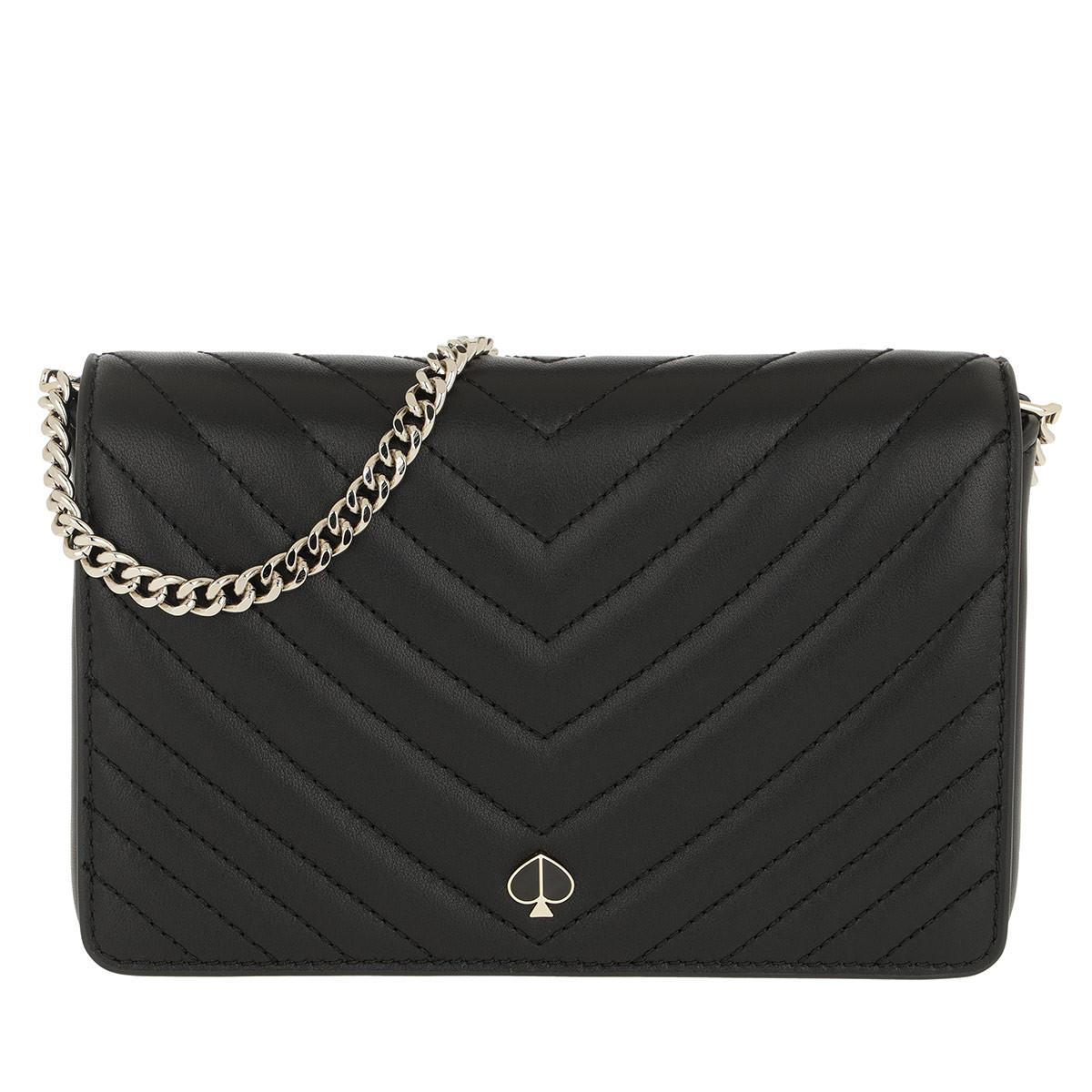 Kate Spade New York Umhängetasche - Amelia Small Wallet Black - in schwarz - für Damen
