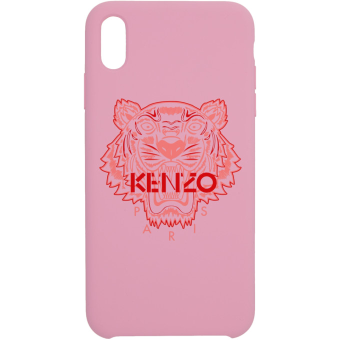 Kenzo Pink and Red Tiger iPhone Xand Case