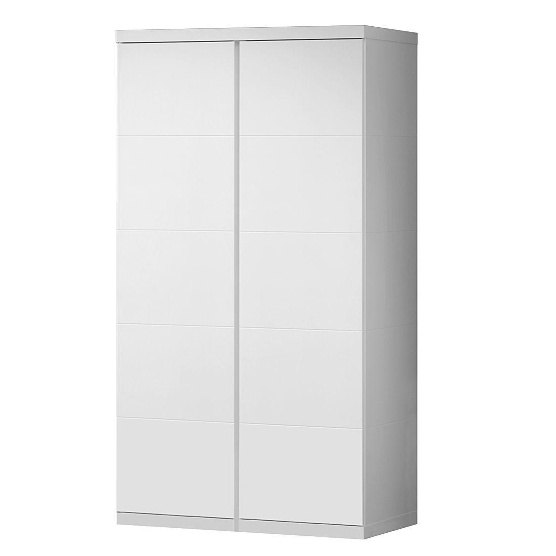 Kleiderschrank Lara (2-trg.) - Weiß, Vipack