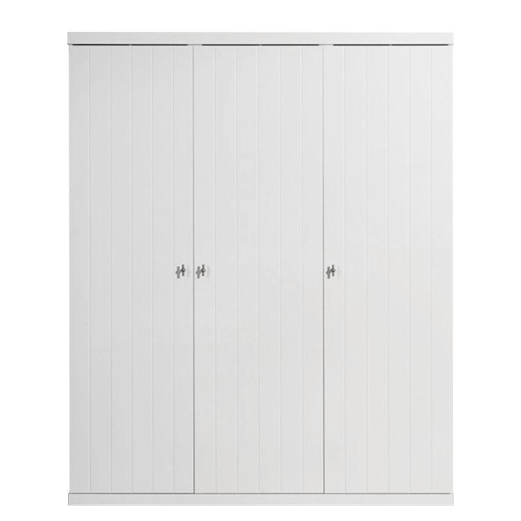 Kleiderschrank Robin (3-trg.) - Weiß, Vipack