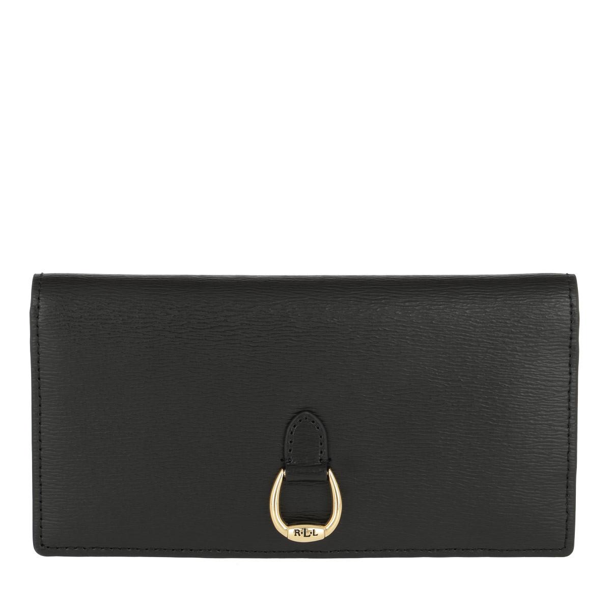 Lauren Ralph Lauren Portemonnaie - Bennington Slim Wallet Medium Black - in schwarz - für Damen