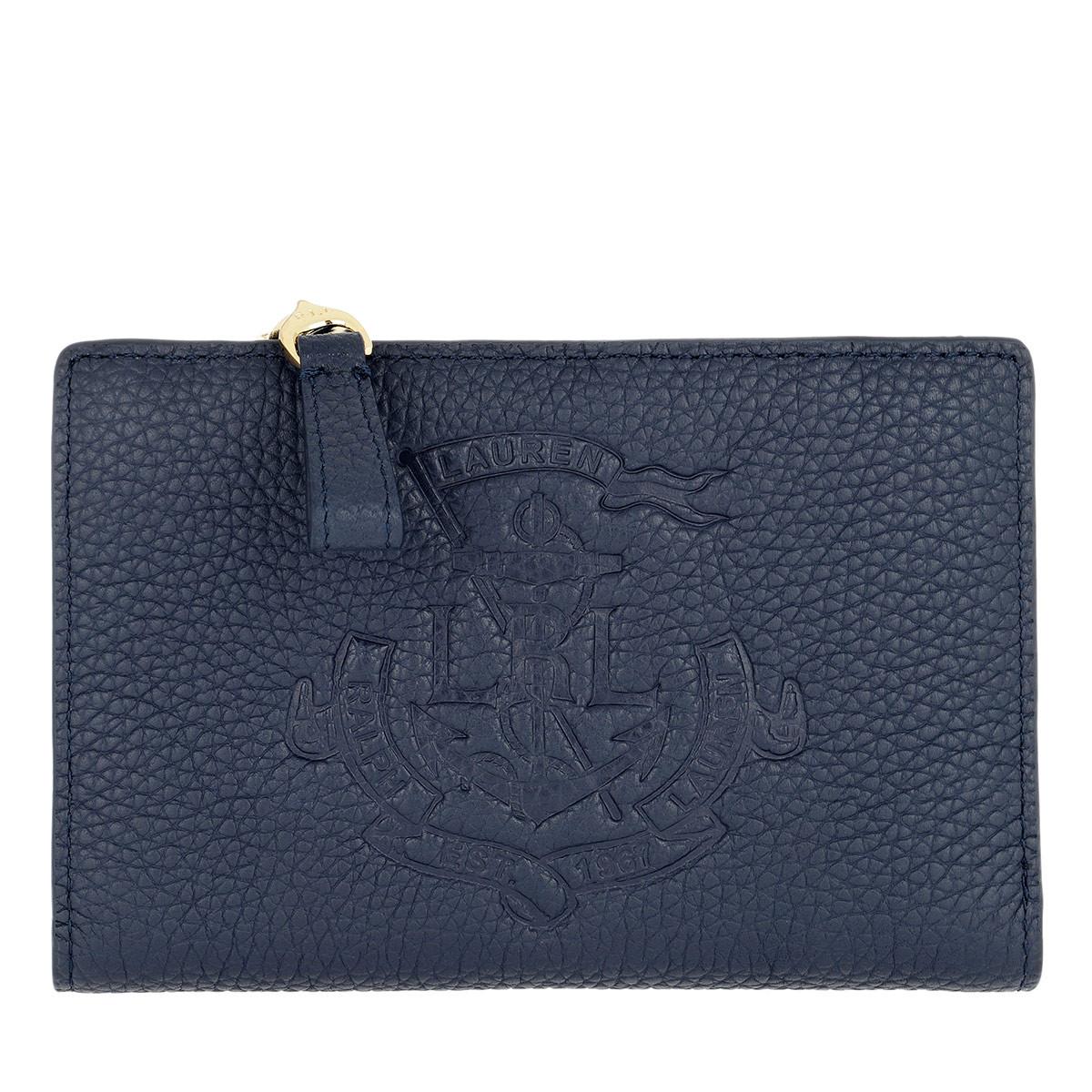 Lauren Ralph Lauren Portemonnaie - Huntley New Compact Wallet Small Navy - in blau - für Damen
