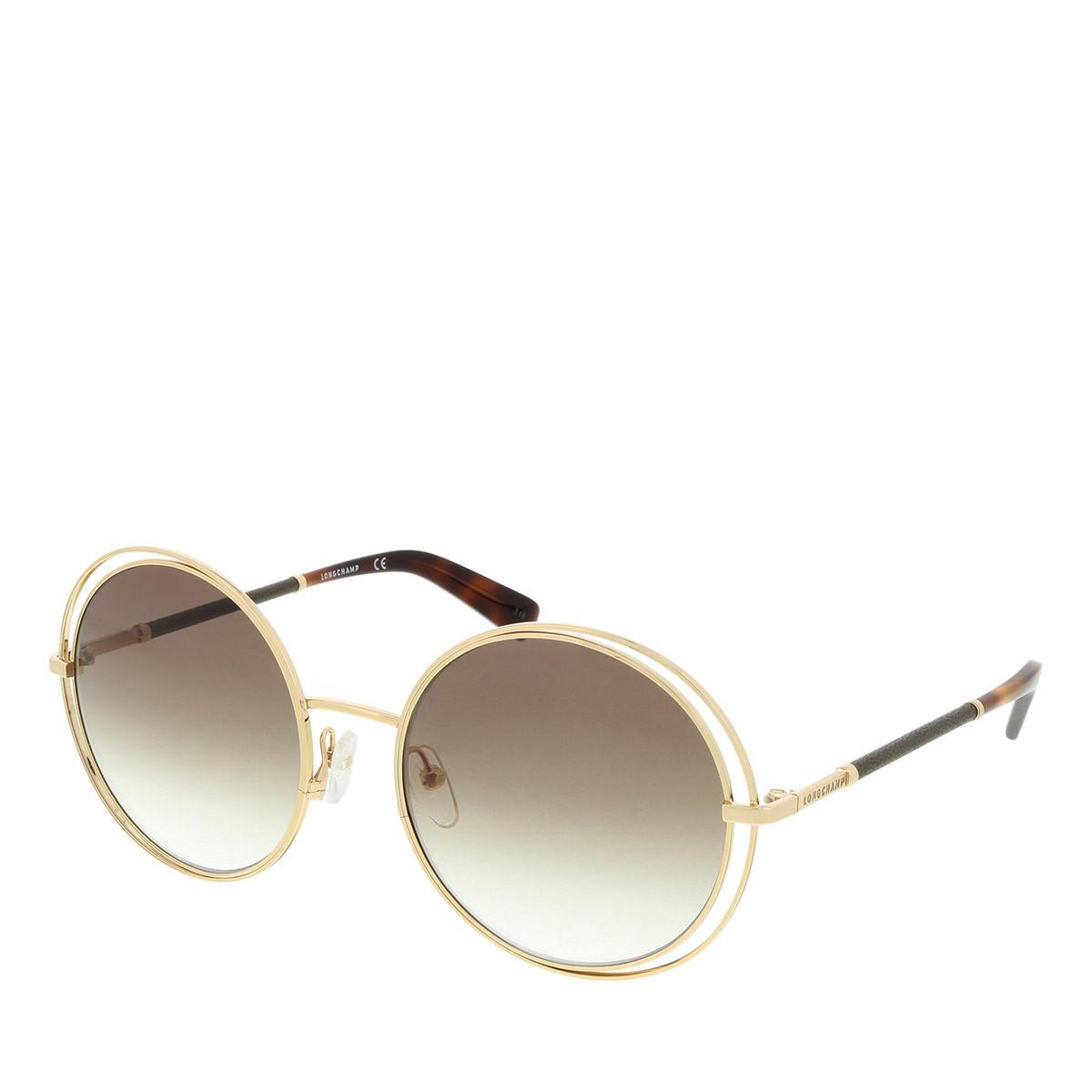 Longchamp Sonnenbrille - LO105SL Gold-Bourbon - in gold - für Damen