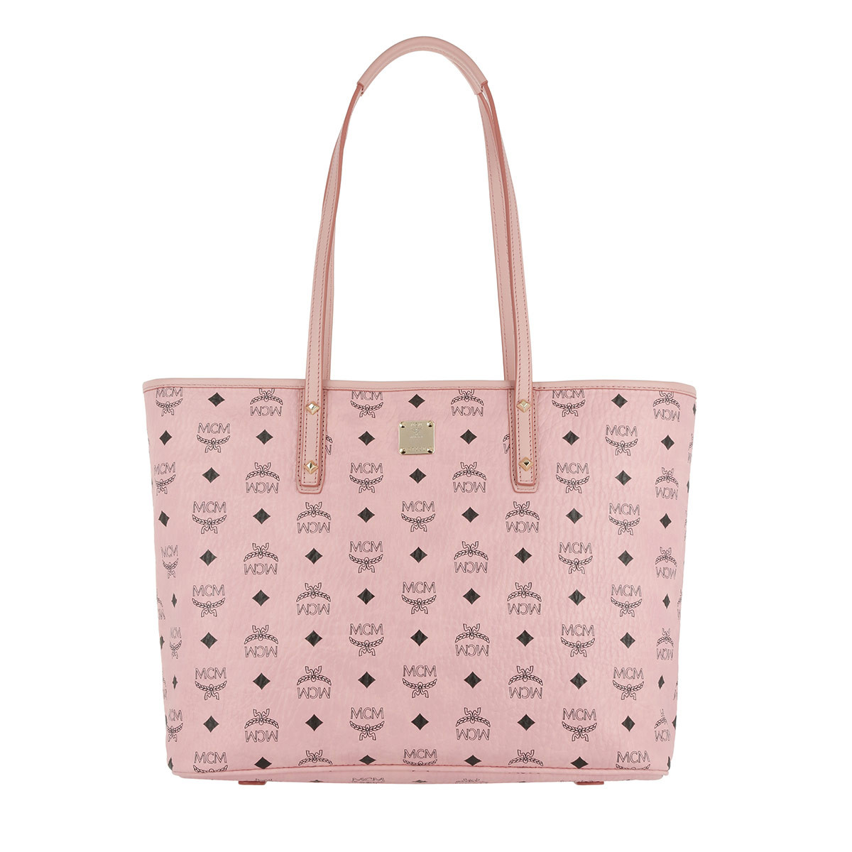 MCM Shopper - Anya Top Zip Shopper Medium Soft Pink - in rosa - für Damen