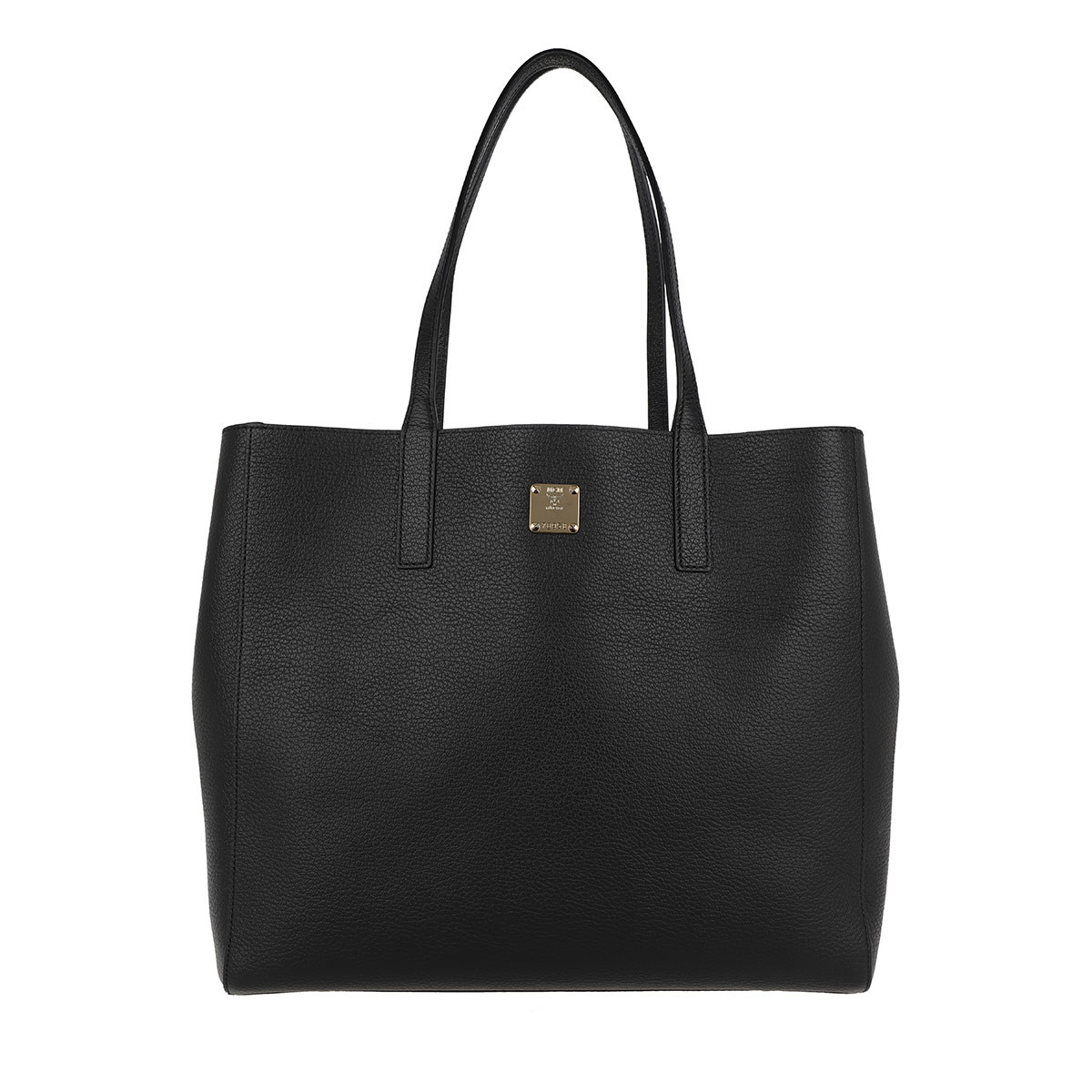MCM Shopper - Koppelene Shopper Medium Black - in schwarz - für Damen