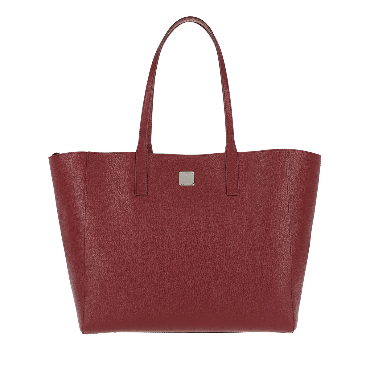 MCM Shopper - Koppelene Shopper Medium Ruby Tan - in rot - für Damen