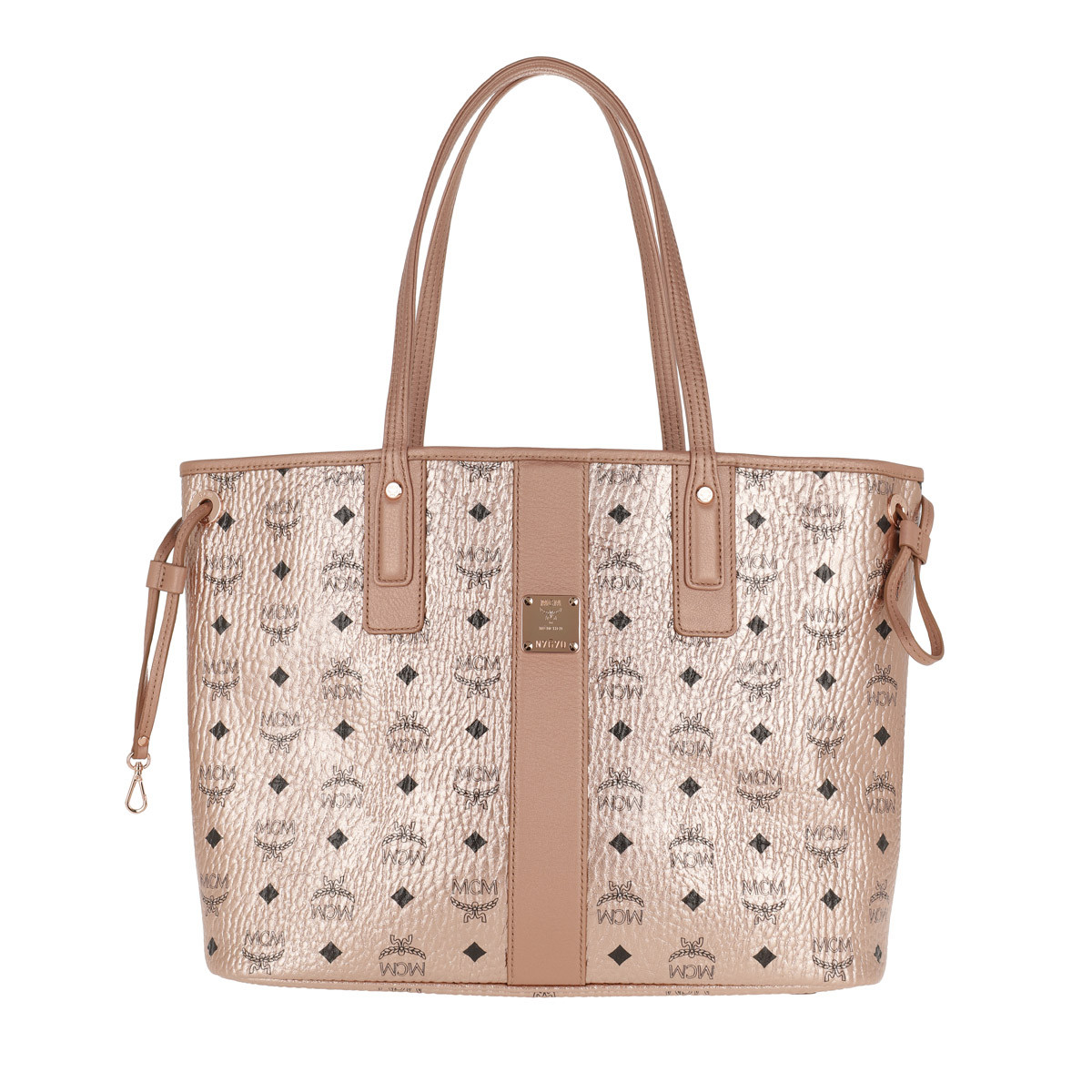 MCM Shopper - Project Visetos Reversible Shopper Medium Champagne Gold - in gold - für Damen