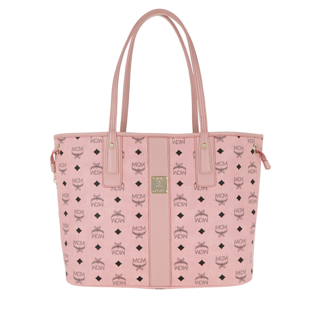 MCM Shopper - Project Visetos Reversible Shopper Medium Soft Pink - in rosa - für Damen