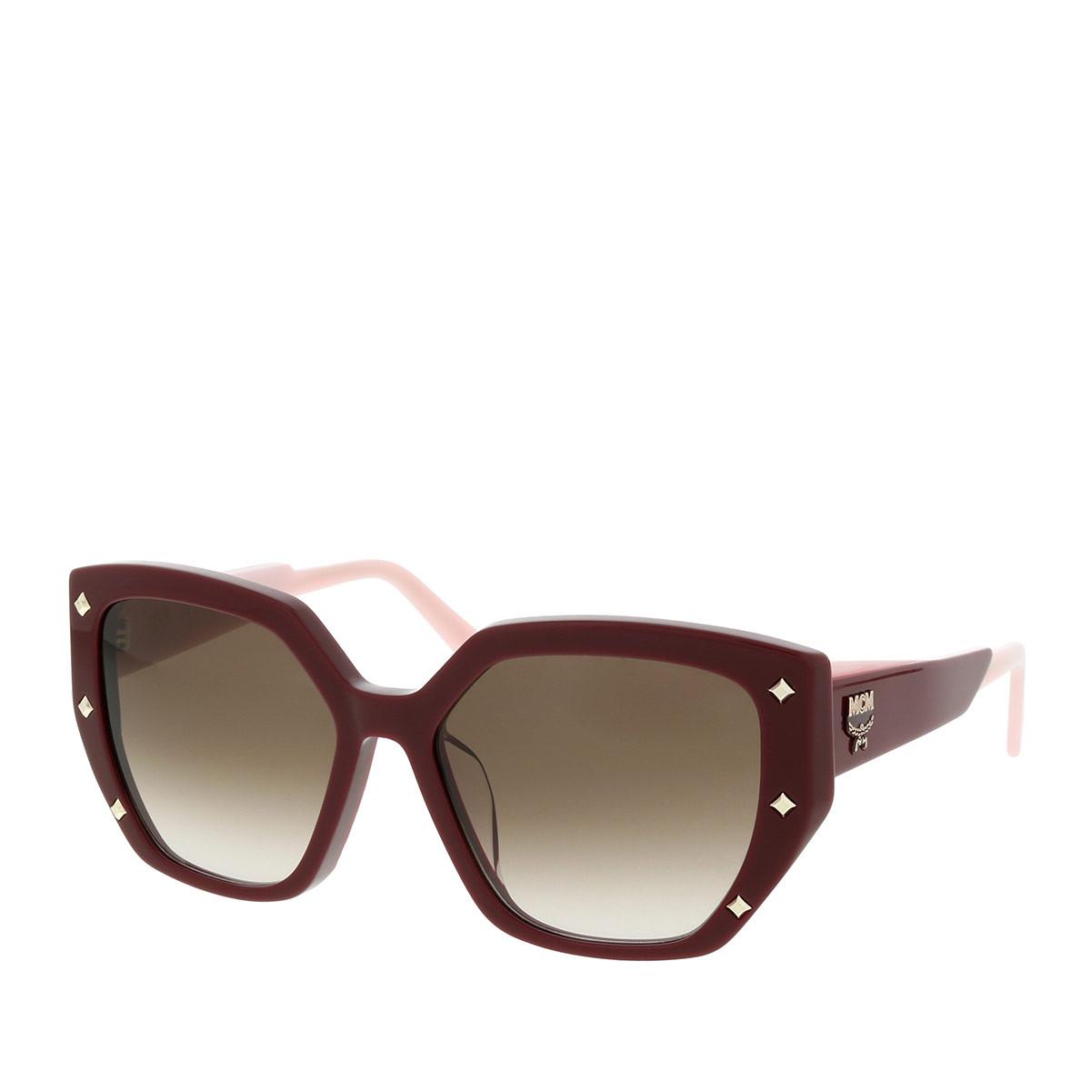 MCM Sonnenbrille - MCM674SA Bordeaux - in rot - für Damen