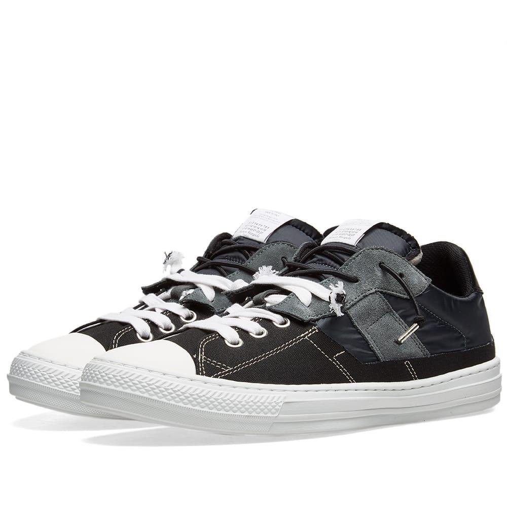 Maison Margiela 22 2-in-1 Low Sneaker Black & Petrol