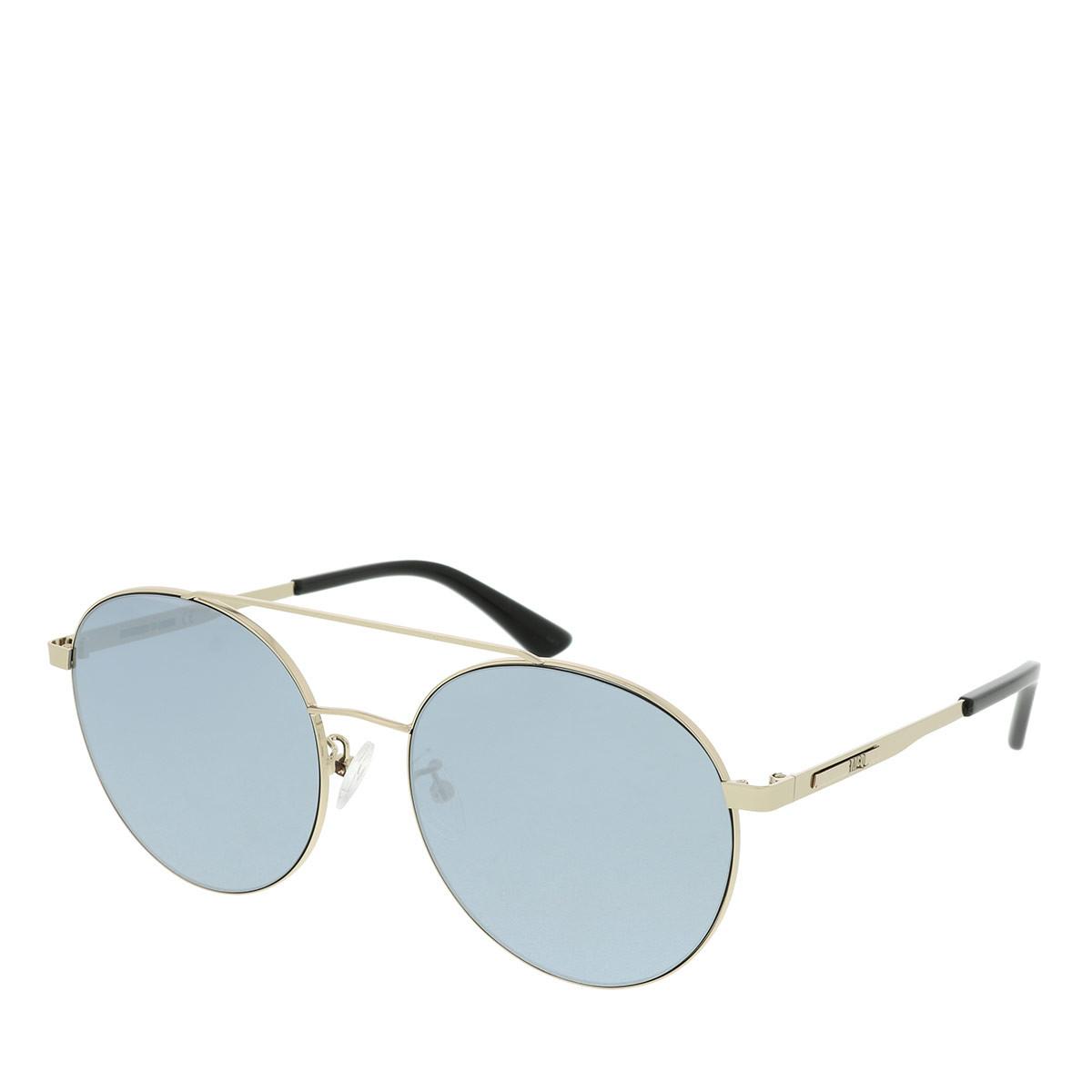 McQ Sonnenbrille - MQ0107SK 57 - in gold - für Damen