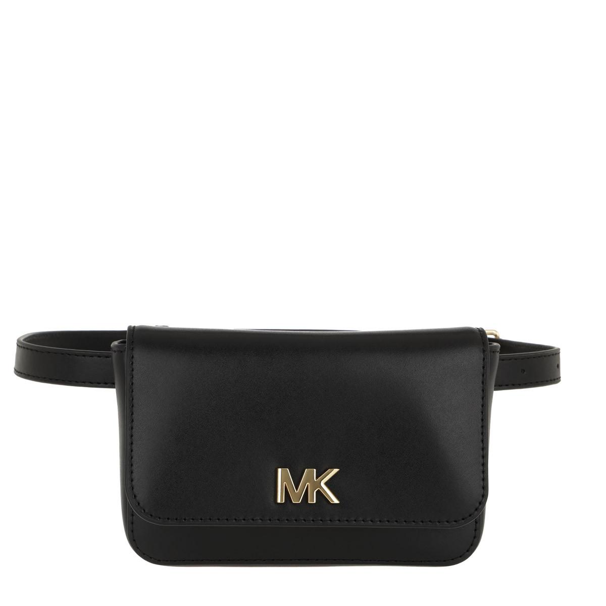 Michael Kors Gürteltasche - Mott Belt Bag Black - in schwarz - für Damen