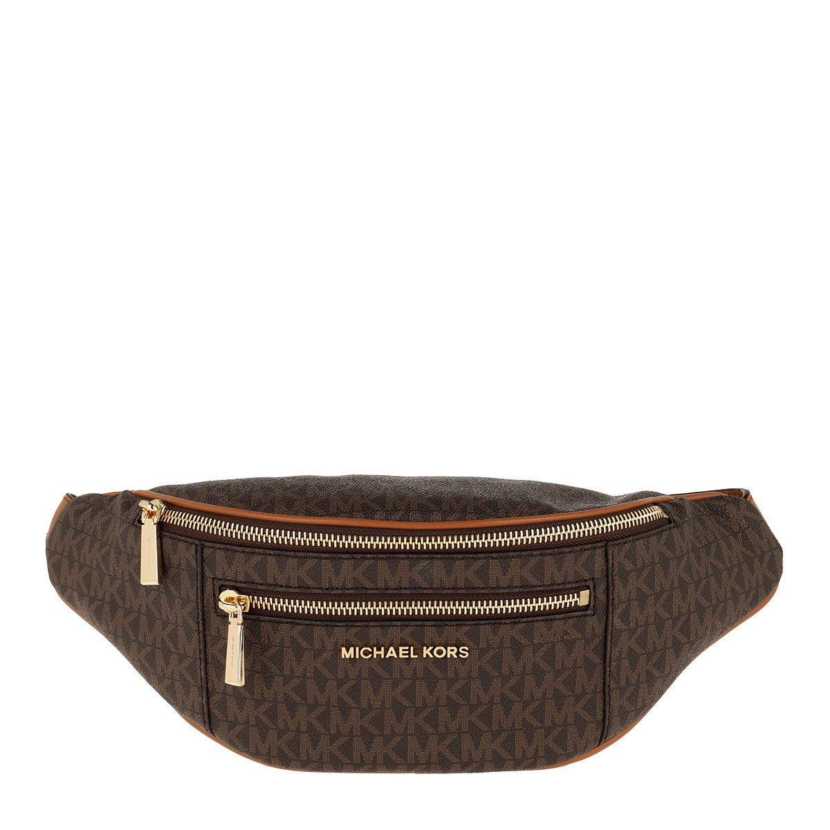 Michael Kors Gürteltasche - Mott Medium Belt Bag Brown/Acorn - in braun - für Damen