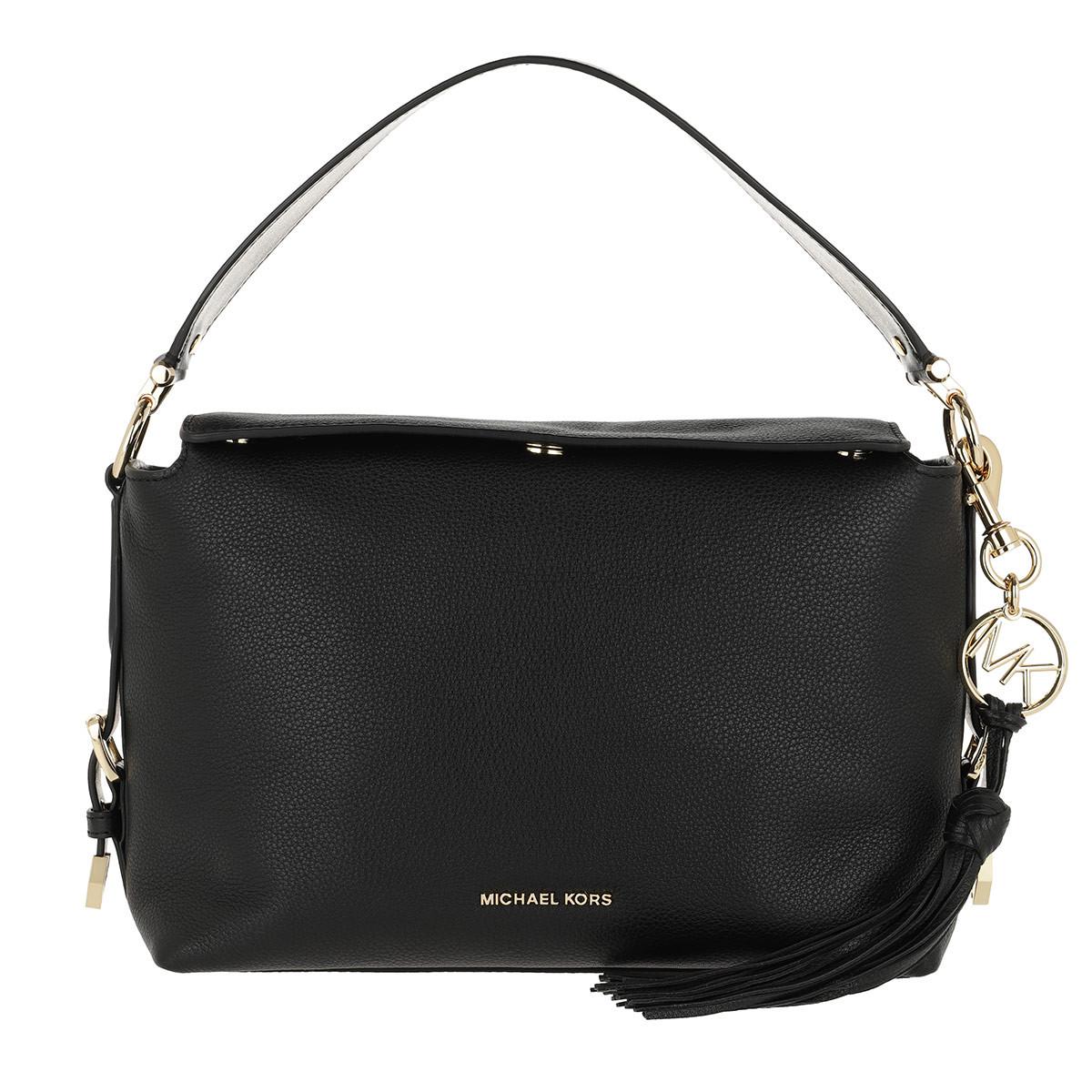 Michael Kors Satchel Bag - Brooke Medium Satchel Black - in schwarz - für Damen