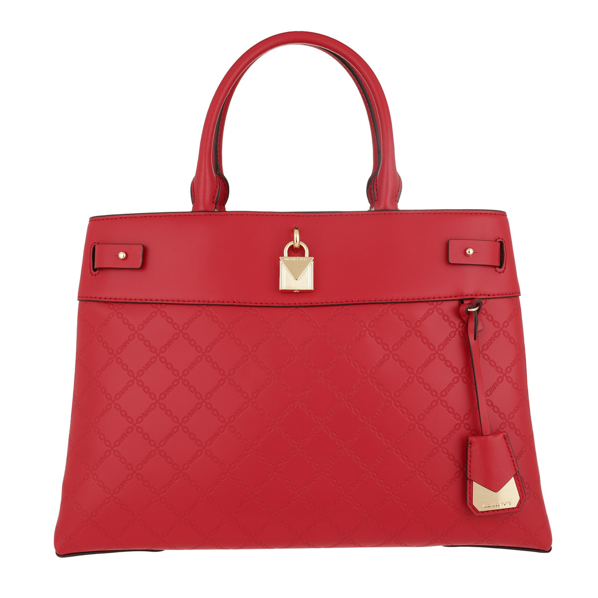 Michael Kors Satchel Bag - Gramercy Large Satchel Bright Red - in rot - für Damen