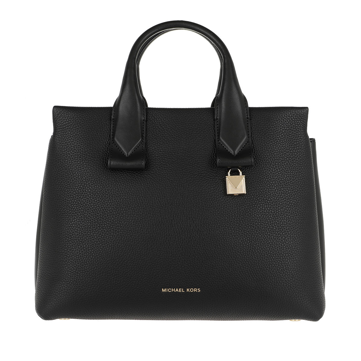 Michael Kors Satchel Bag - Rollins LG Satchel Bag Black - in schwarz - für Damen