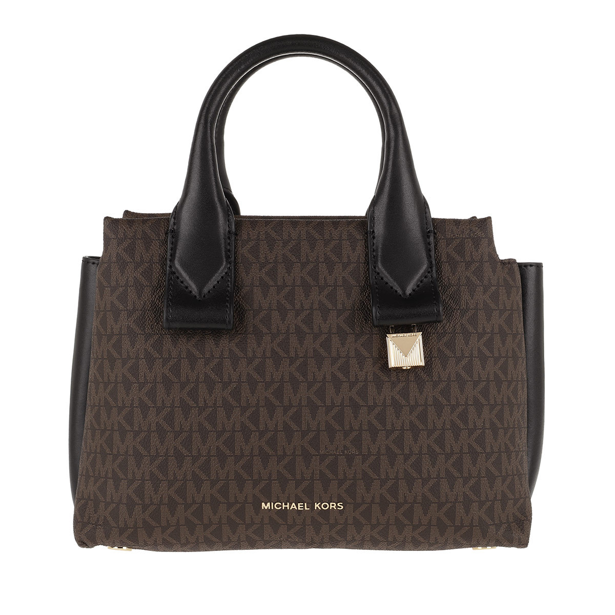 Michael Kors Satchel Bag - Rollins SM Satchel Bag Brown/Black - in braun - für Damen