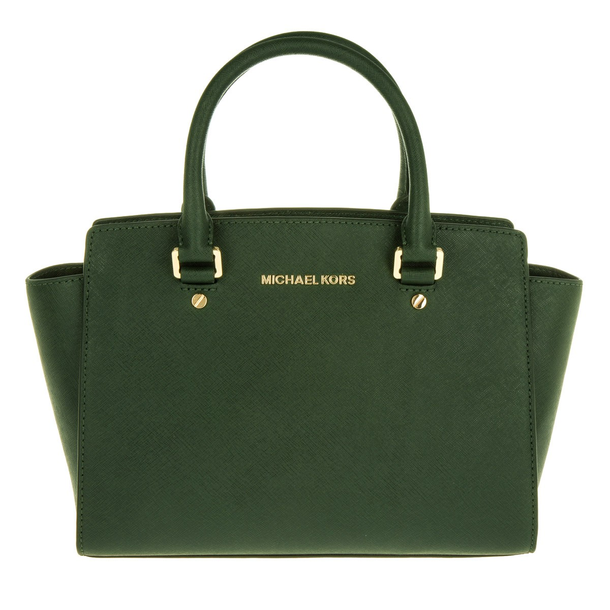 Michael Kors Satchel Bag - Selma MD TZ Satchel Moss - in grün - für Damen
