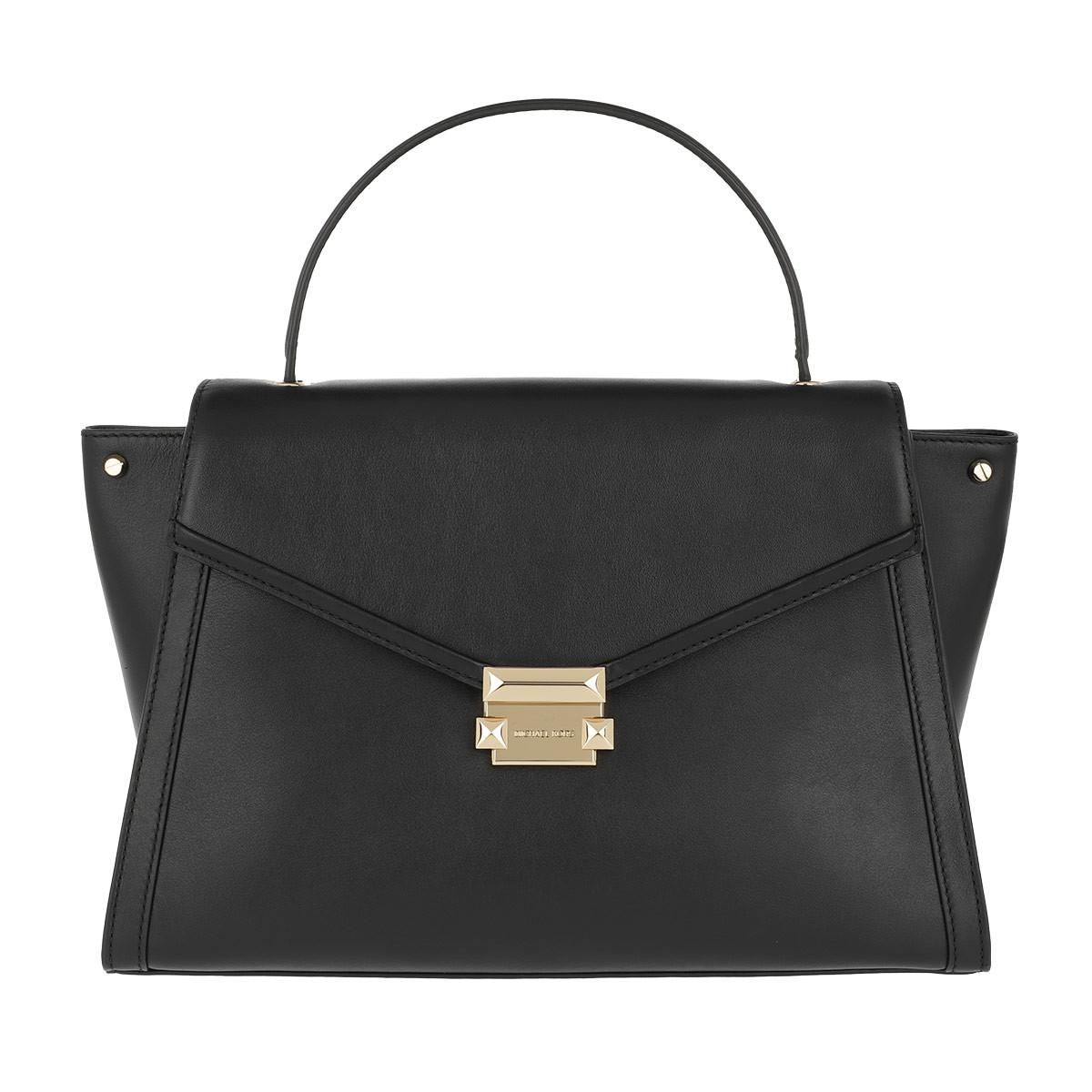 Michael Kors Satchel Bag - Whitney LG TH Satchel Bag Black - in schwarz - für Damen