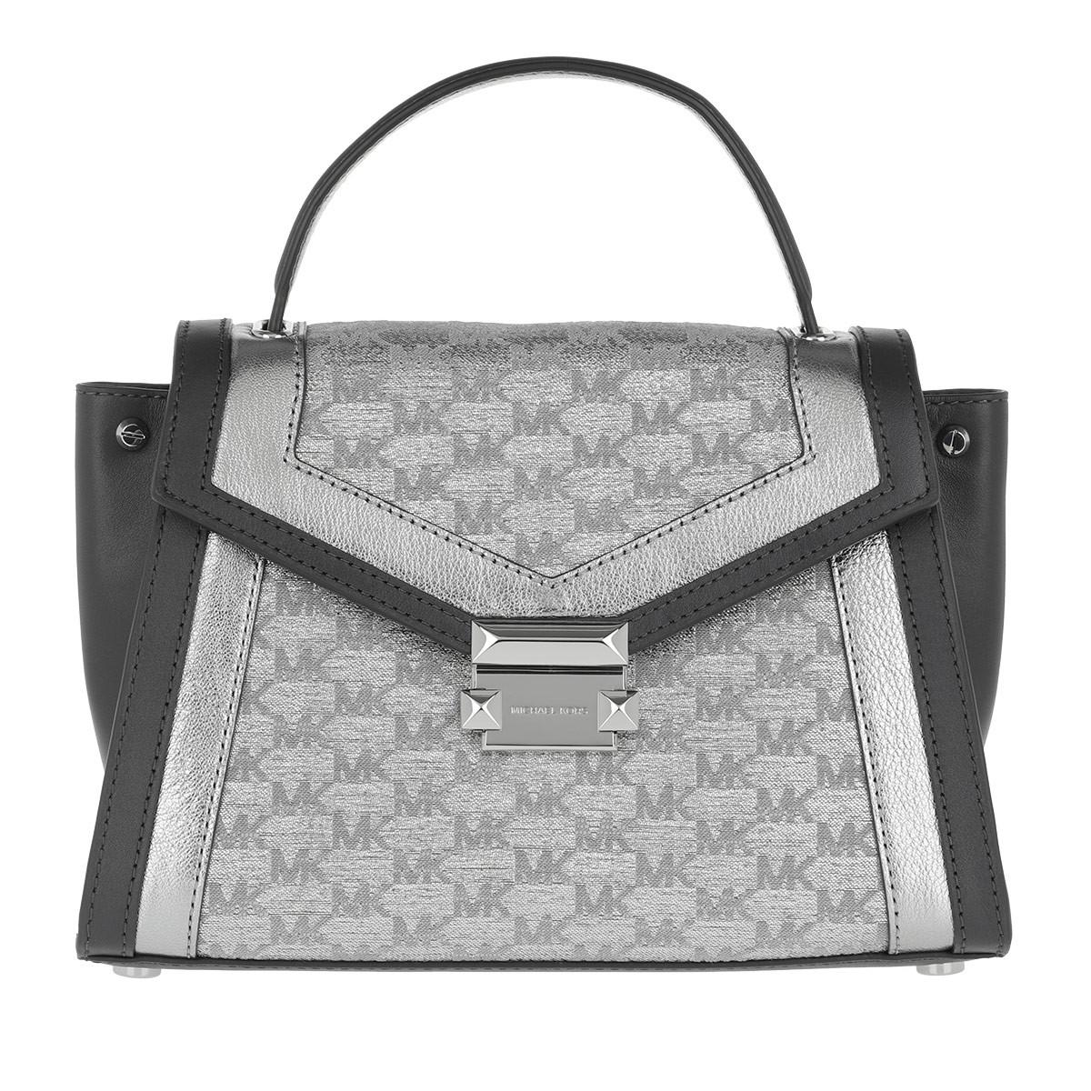 Michael Kors Satchel Bag - Whitney MD TH Satchel Bag Silver - in grau - für Damen