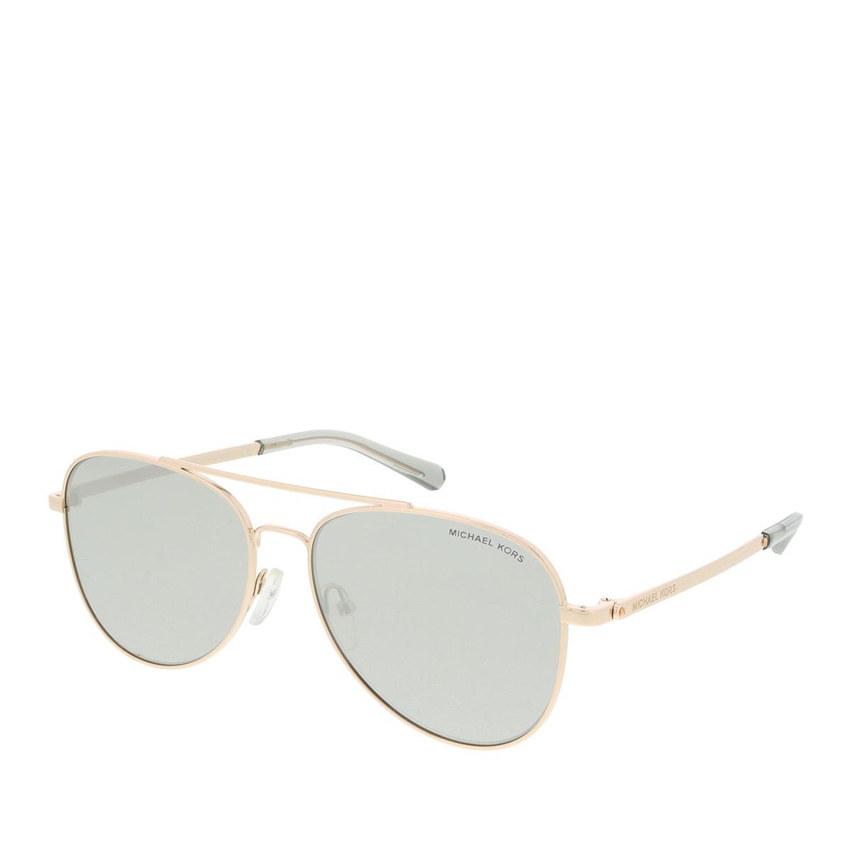 Michael Kors Sonnenbrille - MK 0MK1045 56 11086G - in gold - für Damen