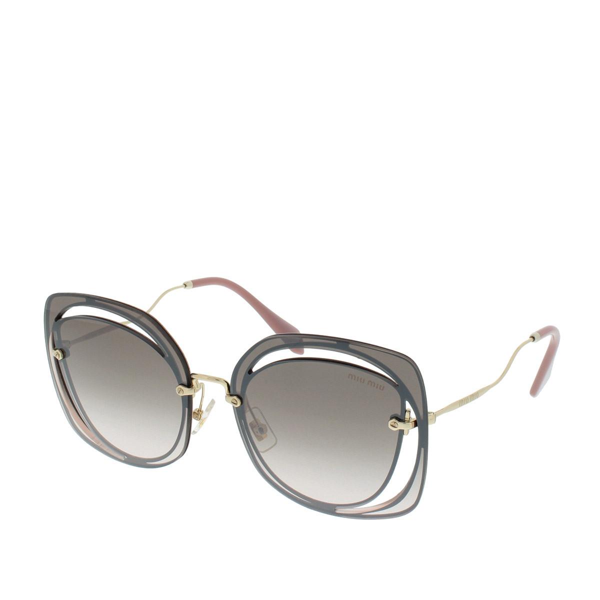 Miu Miu Sonnenbrille - 0MU 54SS 64 DH0AD5 - in gold - für Damen