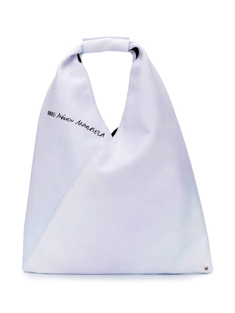 Mm6 Maison Margiela Handtasche mit Druckknopf - Lila