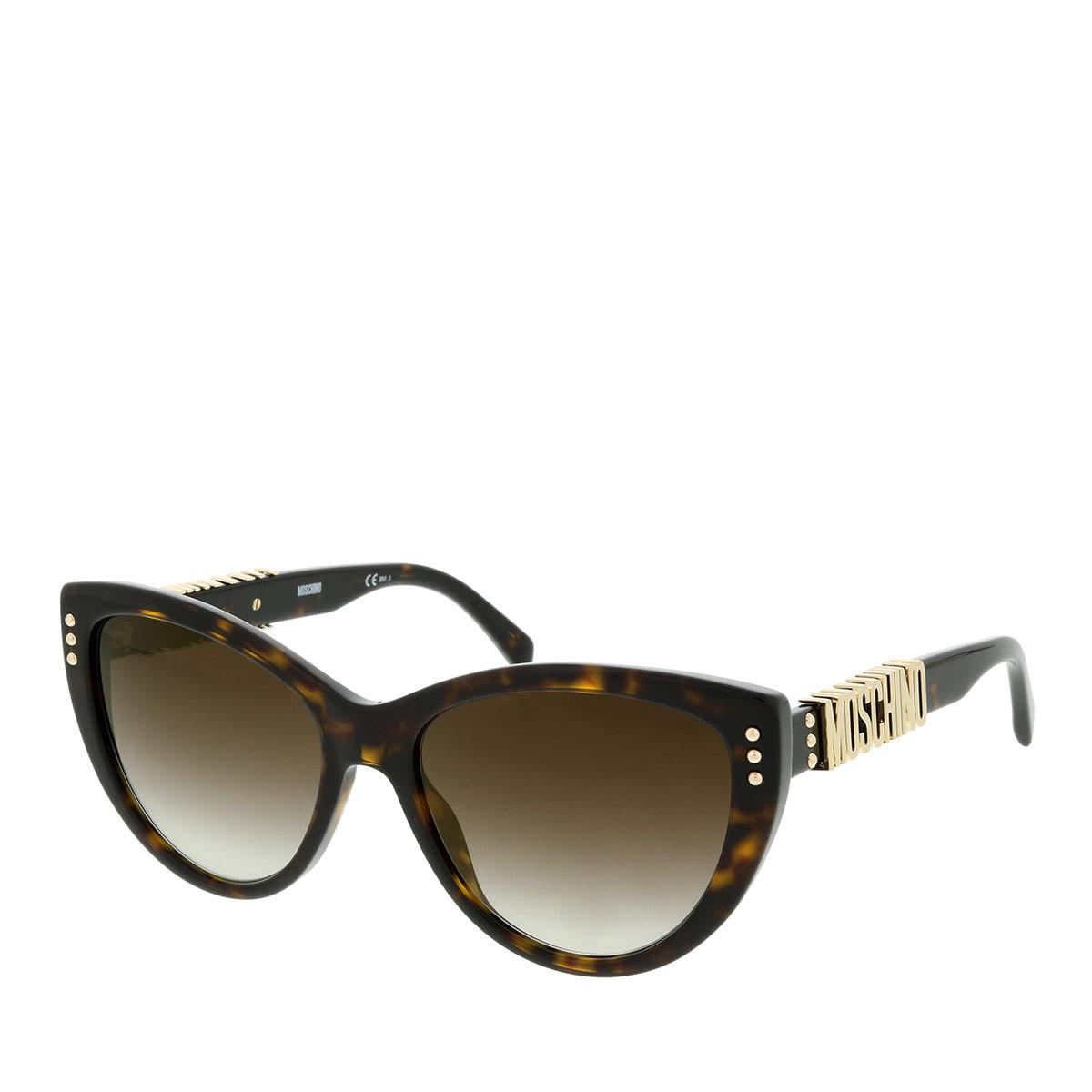 Moschino Sonnenbrille - MOS018/S Dark Havana - in braun - für Damen