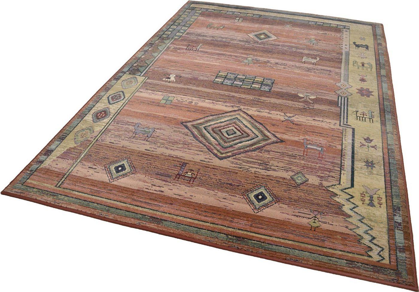 """Orientteppich """"Gabiro 002"""", eckig, 200x285cm, strapazierfähig, THEKO®"""