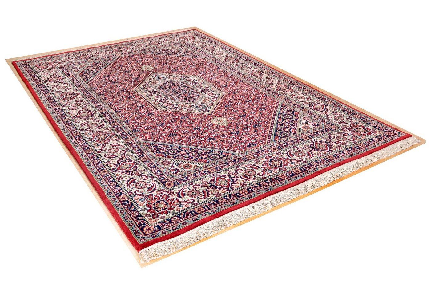 """Orientteppich """"Meraj Silk Touch Bidjar"""", eckig, 140x200cm, THEKO®"""