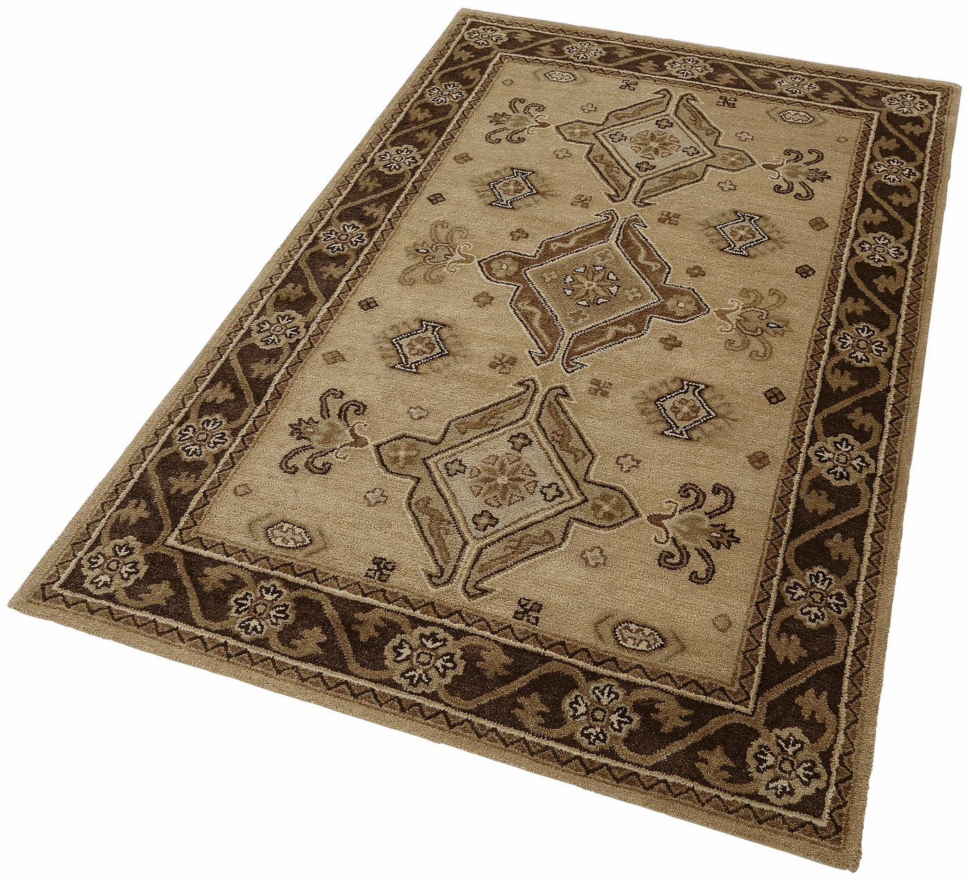 "Orientteppich ""Royal Kazak"", eckig, 70x140cm, THEKO®"