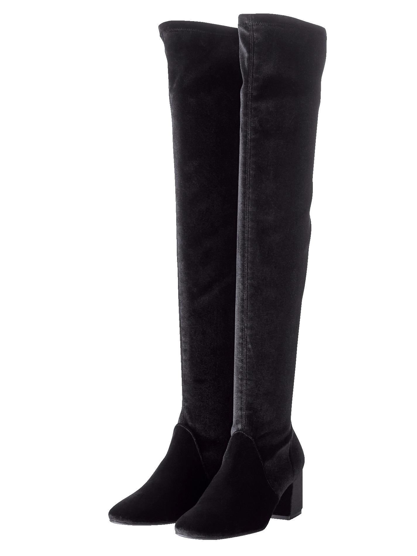 Overknee-Stiefel SIENNA schwarz