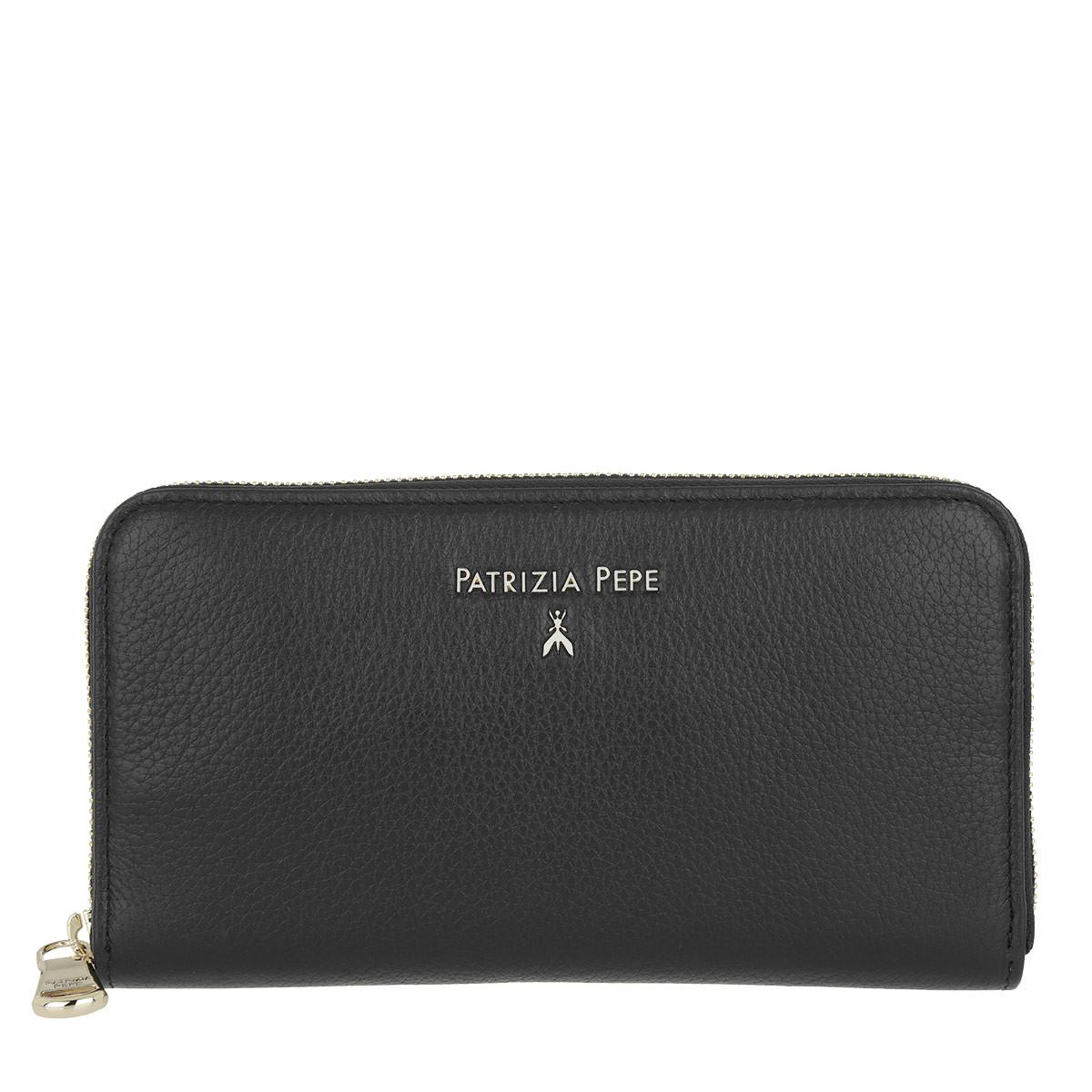Patrizia Pepe Portemonnaie - Zip Around Wallet Nero - in schwarz - für Damen