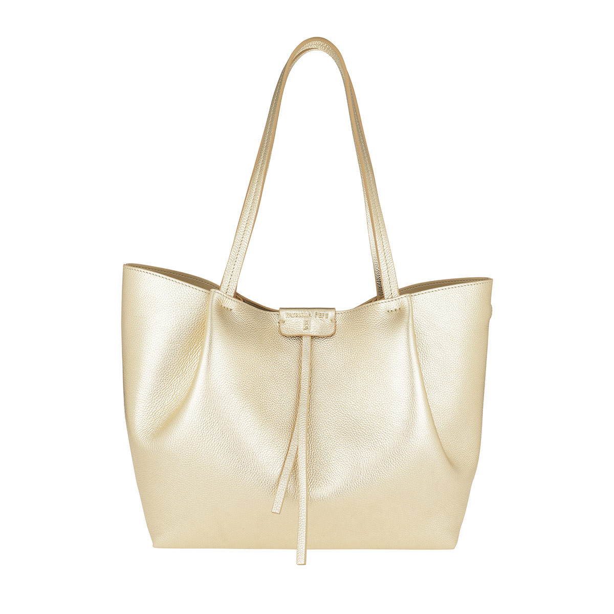 Patrizia Pepe Shopper - Shopper Medium Platinum - in gold - für Damen
