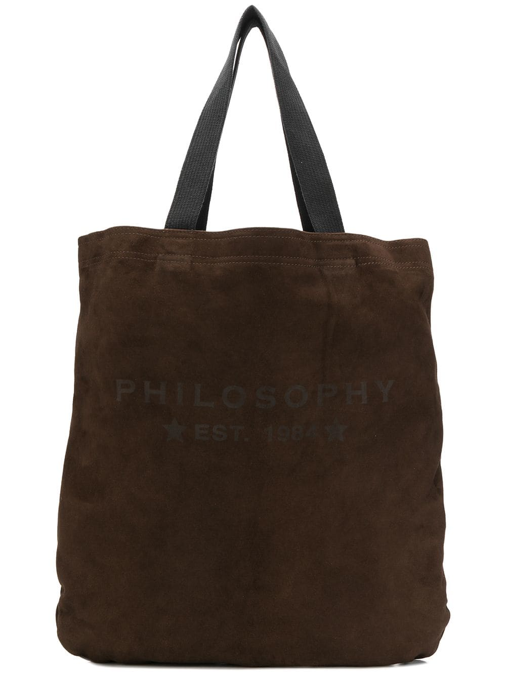Philosophy Di Lorenzo Serafini Handtasche mit Logo - Braun
