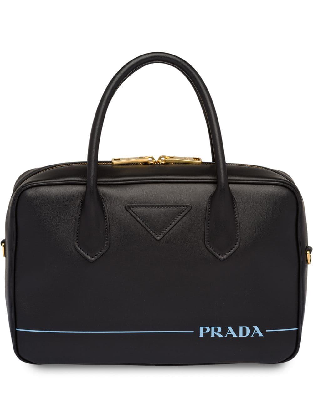 Prada Kleine Prada 'Mirage' Handtasche - Schwarz