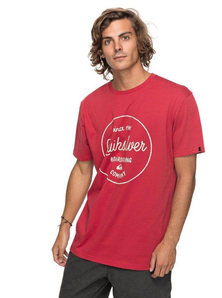 "Quiksilver T-Shirt ""Classic Morning Slides"""