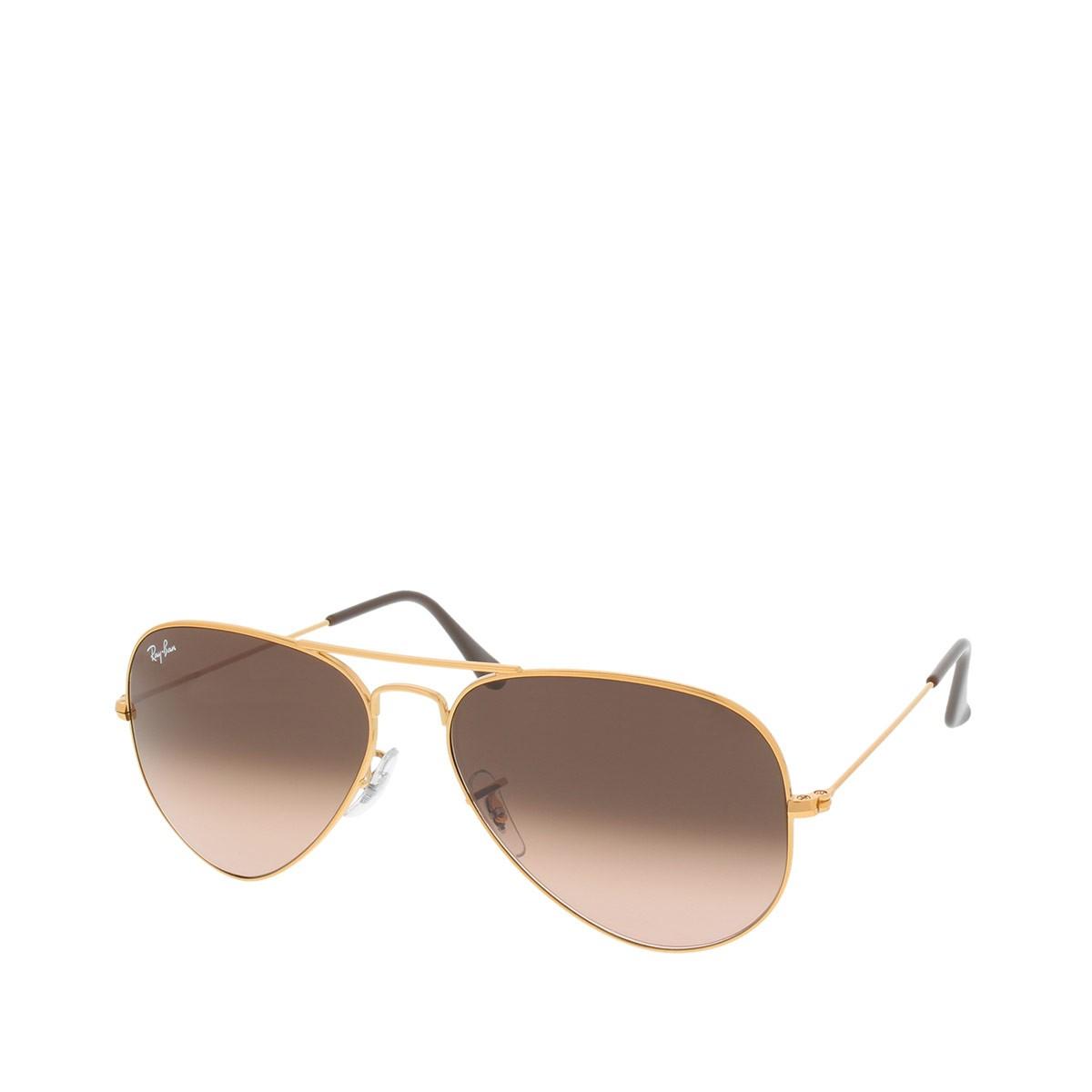 Ray-Ban Sonnenbrille - Aviator RB 0RB3025 58 9001A5 - in braun - für Damen