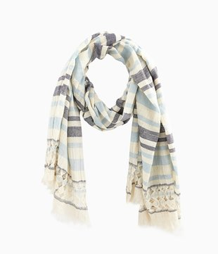 Schal aus Webstoff