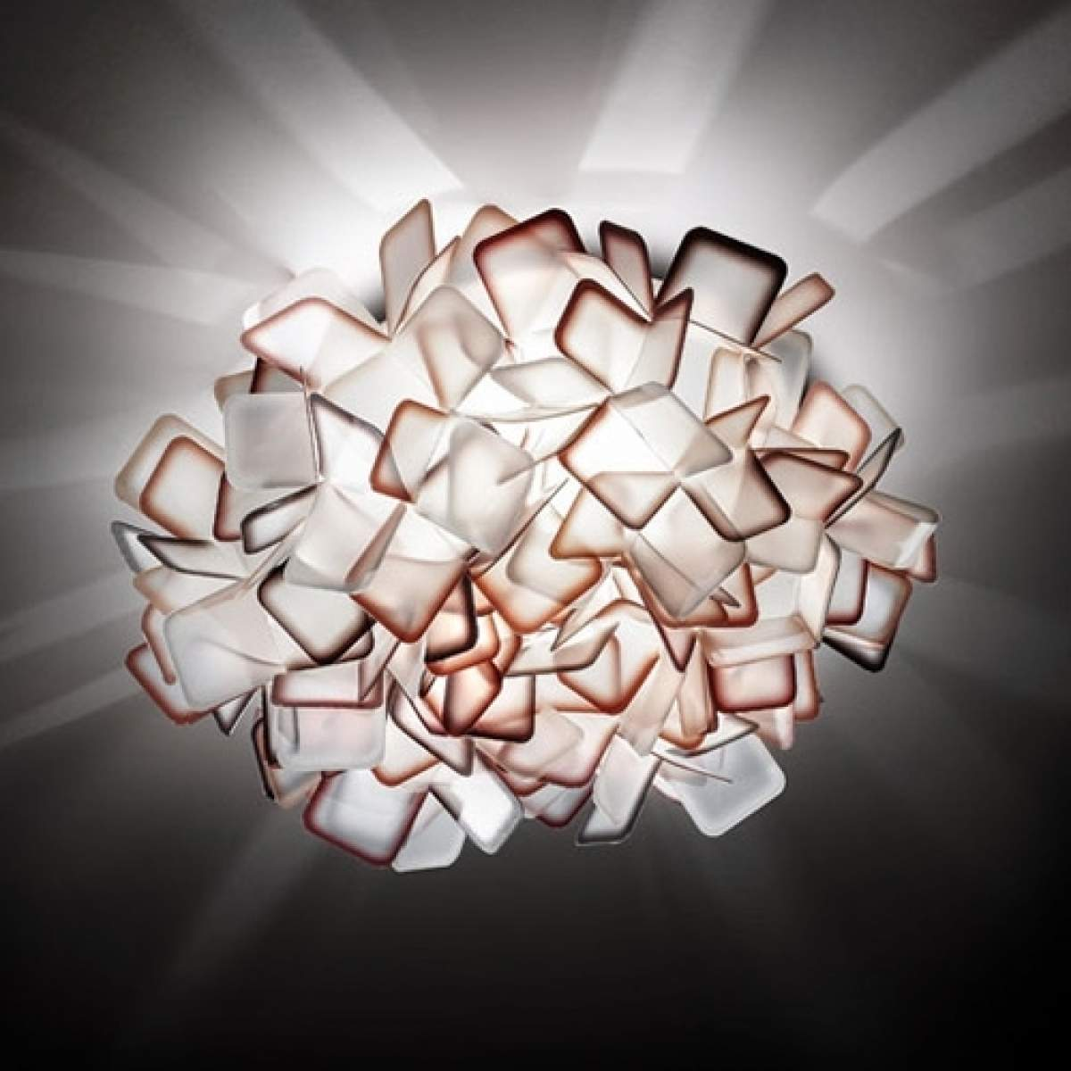 Slamp Clizia - Designer-Wandleuchte, orange