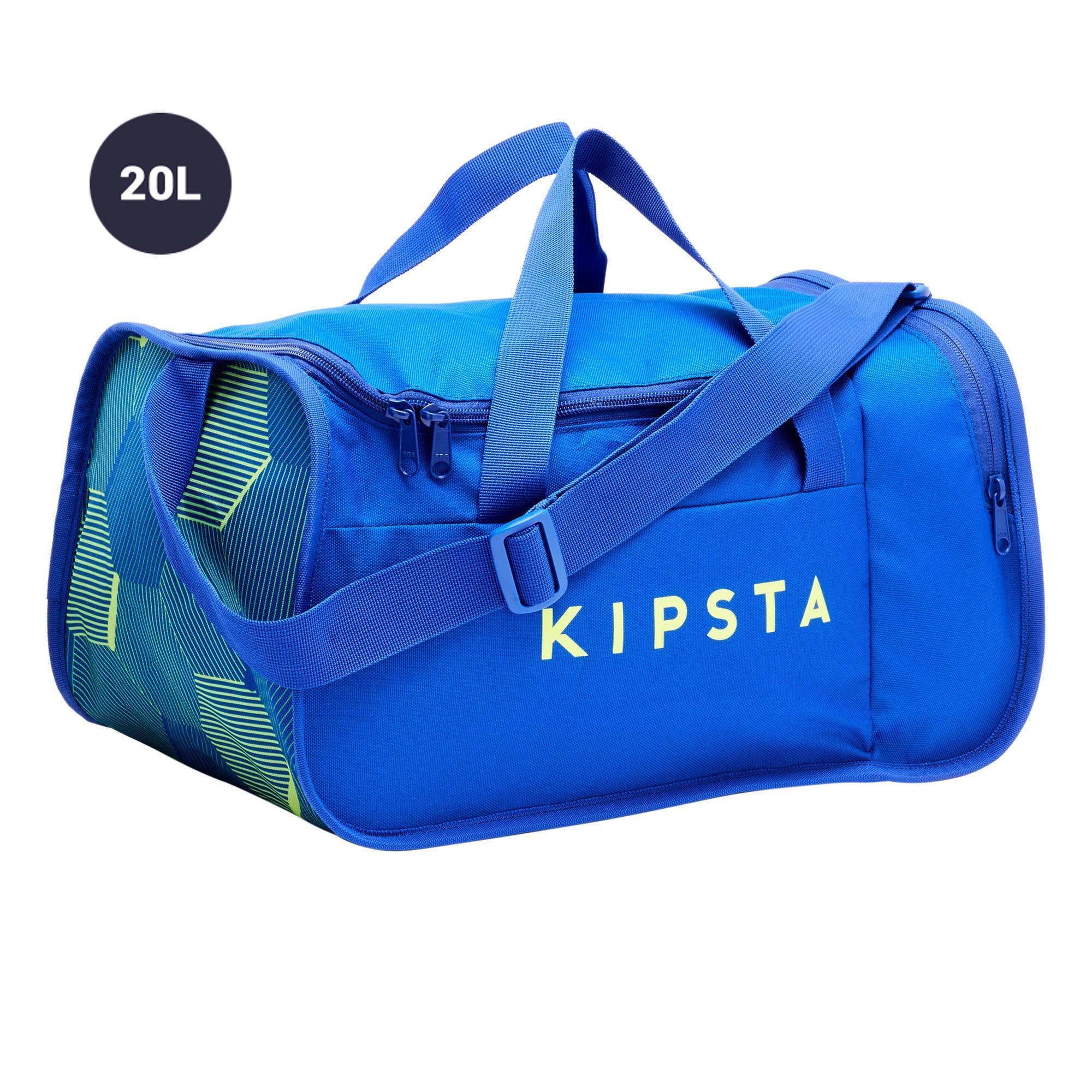 Sporttasche Kipocket 20Liter blau/gelb