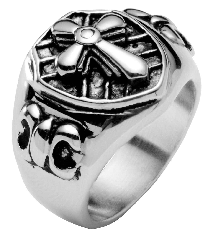 Survive Kreuz Herren-Ring