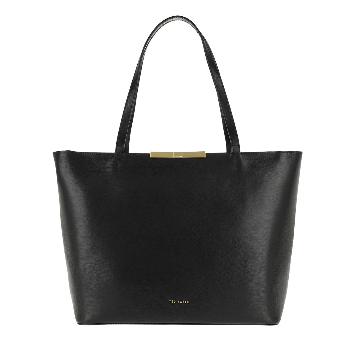 Ted Baker Shopper - Jackki Faceted Bow Mini Bark Shopper Black - in schwarz - für Damen