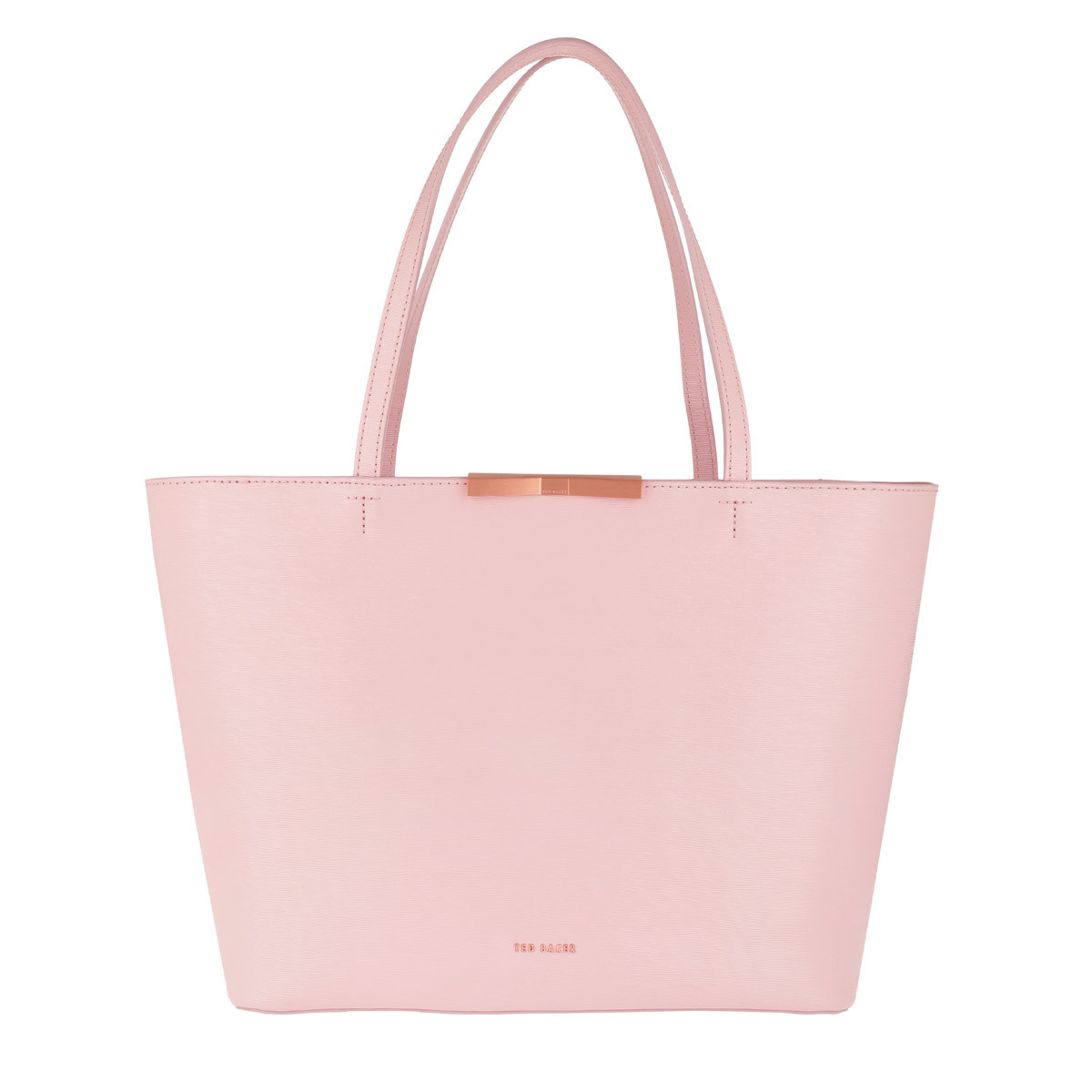 Ted Baker Shopper - Jackki Faceted Bow Mini Bark Shopper Light Pink - in rosa - für Damen