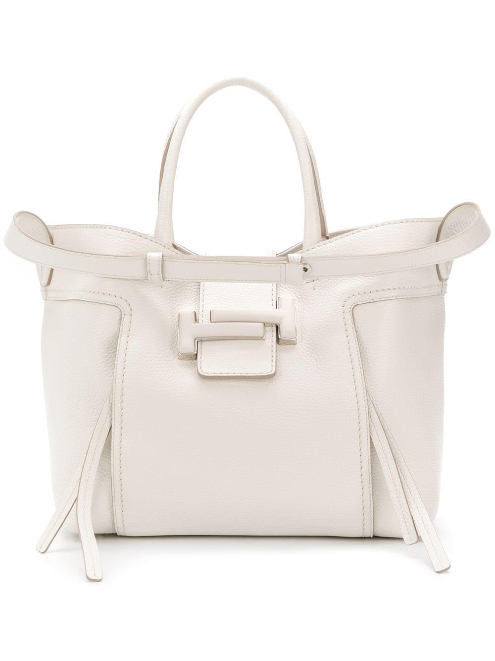 Tod's 'Double T' Handtasche - Weiß