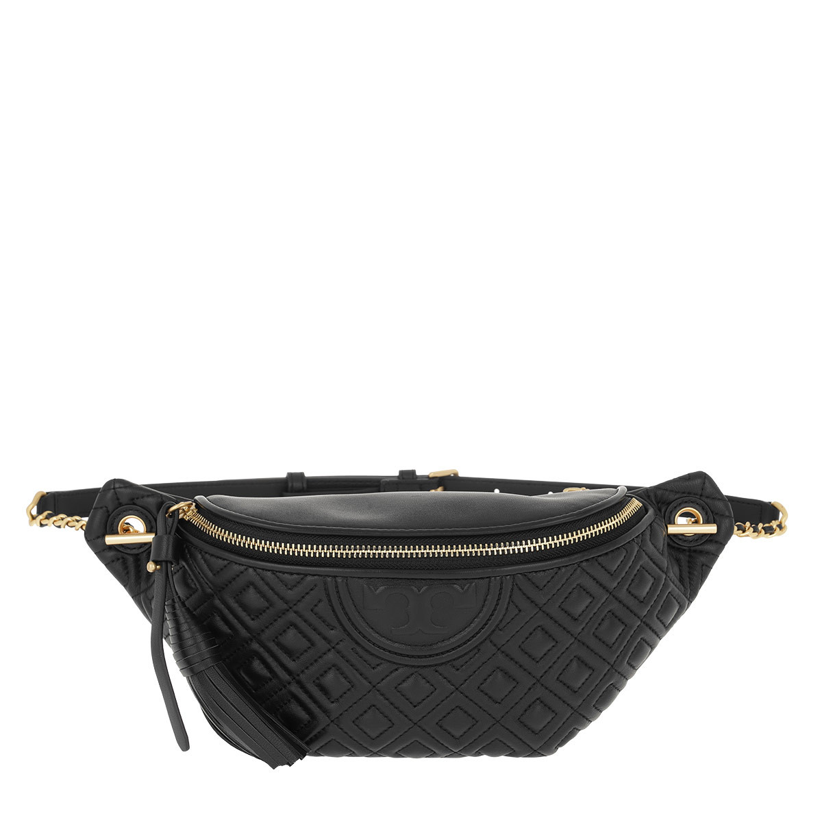 Tory Burch Gürteltasche - Fleming Belt Bag Black - in schwarz - für Damen